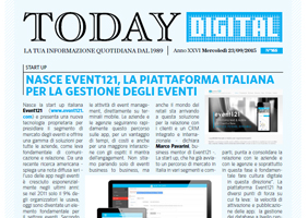 Event121 is born, the Italian platform for events management