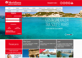 Meridiana Website