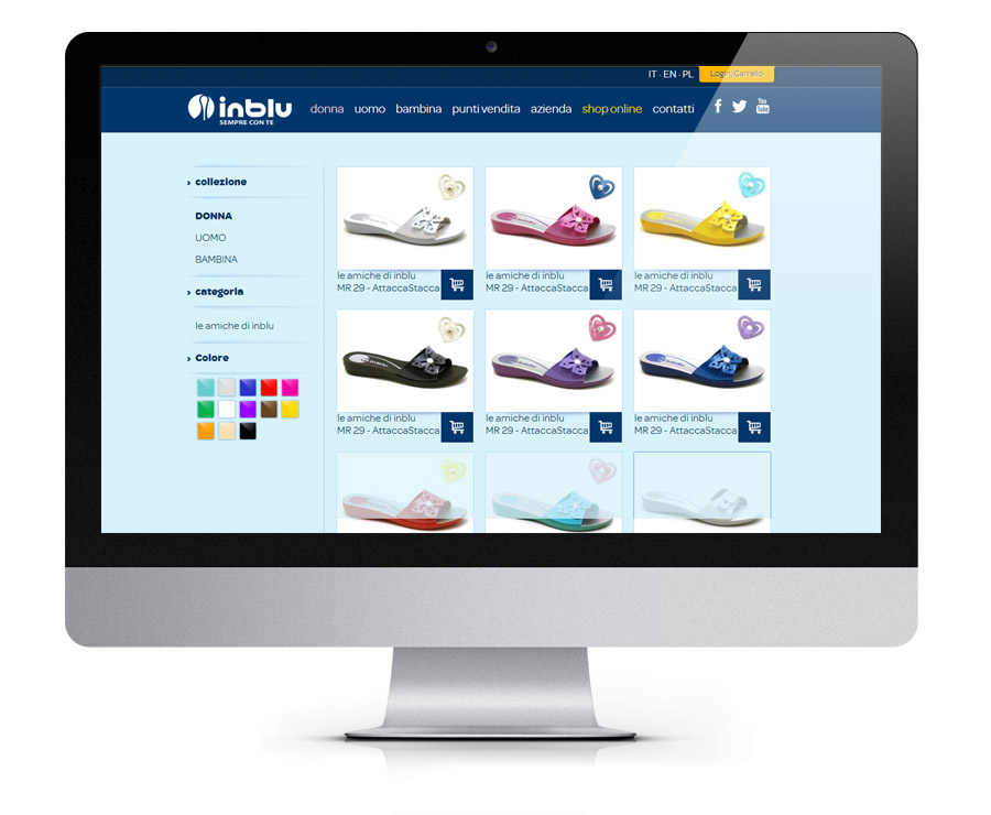 Inblu E-commerce