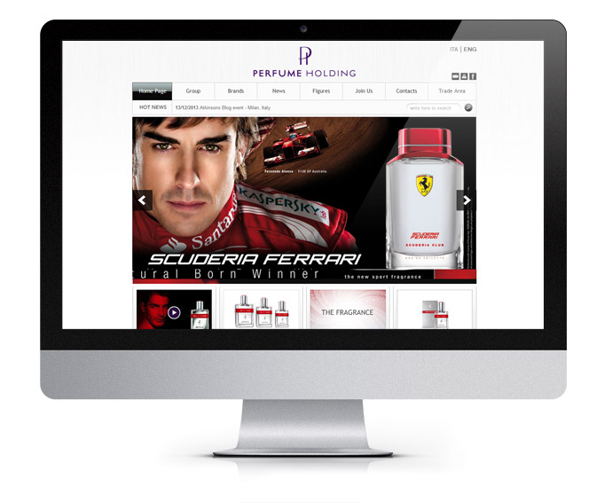 Perfumeholding Website
