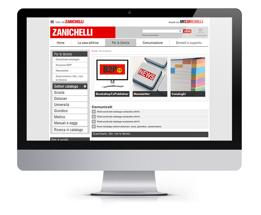 Zanichelli E-commerce